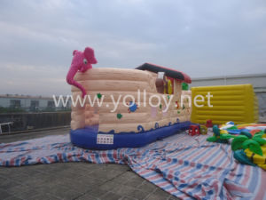 Parque de salto animoso del castillo de la diversión inflable