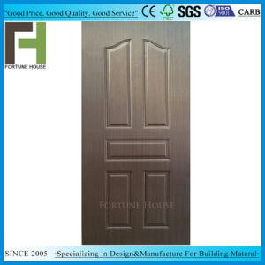 Двери кожу фанера/EV-Венге шпона дерева с литыми панели двери