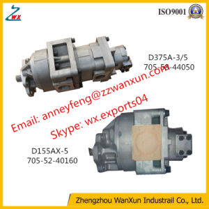 Komatsu 로더 Wa450-5L를 위한 1개 년 보장 기어 펌프 705-51-30580