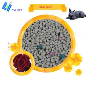 Lettiera della bentonite del profumo della Rosa per i gatti Toliet
