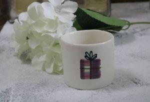 7*5.5 cm cheiro Vela cerâmica para decoração