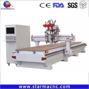 3 Spindel CNC-Fräserengraver-Maschine für hölzernen Stich