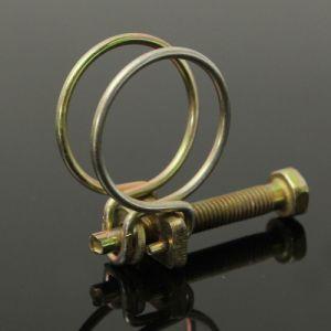Fascetta stringituba formata collegare del collegare dei morsetti di tubo della molla doppia