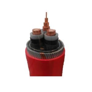 Kema низкого среднего напряжения дым галогенов медного кабеля