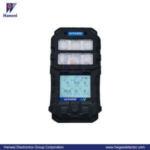 Six portable-en-un détecteur de gaz toxiques Combustible Multi (E6000)