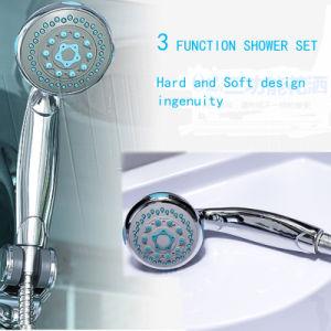 High-Grade el vapor caliente ducha con bañera de masaje con el paso (BZ-817)