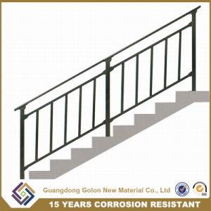 facilement assembl s basse en acier au carbone balustrade rampe d 39 escalier ext rieur en. Black Bedroom Furniture Sets. Home Design Ideas