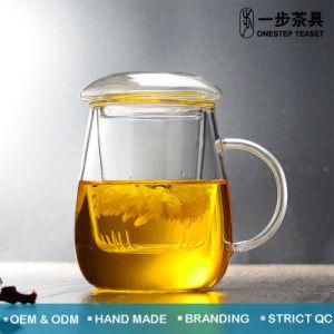 Teacup di vetro termoresistente di alta qualità