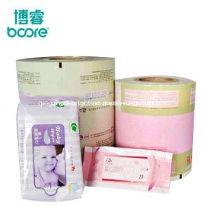 Настроенные на заводе бумажную упаковку из алюминиевой фольги влажных салфеток для взрослых