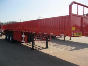 半永久にWeifang 40-60 Tの貨物輸送3の車軸側面のトレーラー