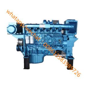 De Mariene Deesel Motor van Weichai Wp12c400-21/Wp12c450-21