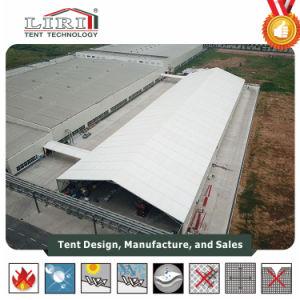 دائمة كبيرة خيمة مصنع مع لهب - [رتردنت] سقف مسيكة