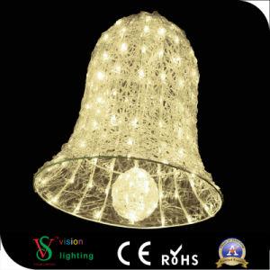 Licht 2018 LED-Bell für im Freienweihnachtsdekoration