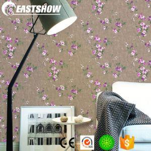 Современные самоклеящаяся виниловая пленка ПВХ оптовые дешевые дома обои с узором спереди