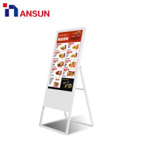 Сохранение/ресторан отеля Android USB WiFi подставка для Digital Signage светодиодный дисплей