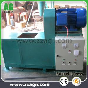 Máquina de extrusão de briquetes de biomassa para fazer churrasco de carvão