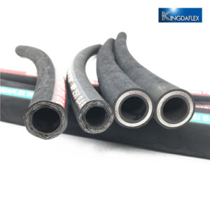 Niedrige Temperatur-Abnutzungs-beständiger Deckel-Draht-Spirale-Gummibergbau-hydraulischer Schlauch En856 4sh