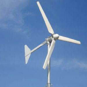 Interna mini motor generador de turbina de viento horizontal