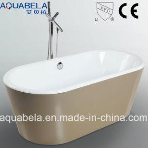 Cupc aprovado na banheira de hidromassagem acrílico de loiça sanitária para casa de banho (JL607)
