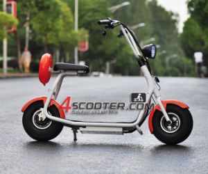 500W Scooter Eléctrico Harley Scooter Adulto grande roda Scooter