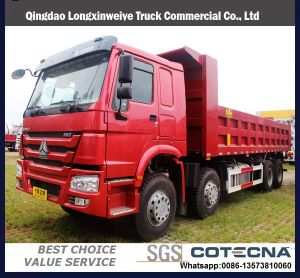 Sinotruk HOWO 6X4 20-30ton 15cbm Dump caminhão de caixa basculante