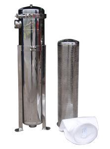Custodia di filtro industriale di sicurezza del filtro da acqua Ss304