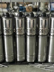 Motor 4qgd llena de aceite de la bomba de tornillo de la bomba de agua sumergible