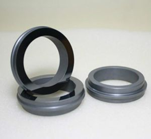 Cerámica de carburo de silicio negro Anillo de sello mecánico de la bomba de agua
