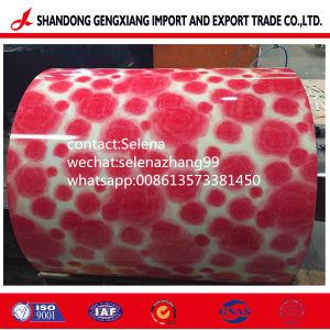 Lamiera di acciaio preverniciata rivestita di legno della fabbrica cinese