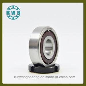 Fila única de contacto angular con cojinete de soporte de baquelita, fábrica de producción (7303AC)