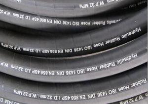 4 Reforço de camada de fio de aço Spiraled de Borracha 4sp 4sh