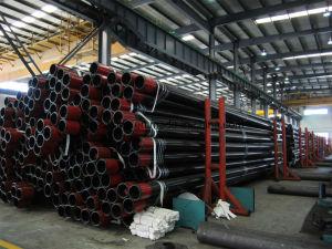 Tubo di Casing&Tubing dell'olio con il filetto di API-5CT e J/K55 coppia, N80, L80/P110/T95/Q125.