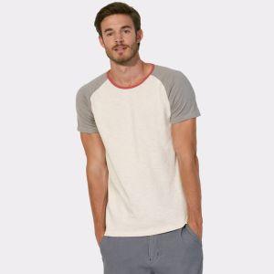 좋은 쇼 대조는 남녀 공통 야구 저어지 Raglan t-셔츠를 착색한다