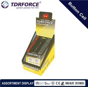 3V Cr Buttom сотовый литиевый аккумулятор с BSCI для Fidget вращатель (CR 3шт.)