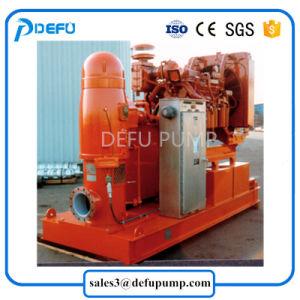 Turbine verticale entraîné par moteur de pompe à eau centrifuge Diesel Fire/l'arbre long de la pompe incendie