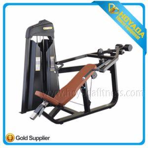 Strumentazione di sport commerciale di forma fisica di ginnastica della costruzione di corpo della pressa della pendenza di buona qualità dell'idraulica 1008