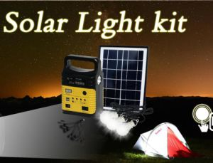 La iluminación solar y la luz de la energía solar para su hogar y de negocios de 10W Lámpara Solar