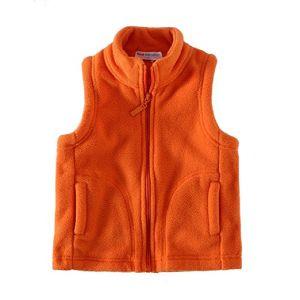 형식 디자인 아이들 극지 양털 소매 없는 재킷