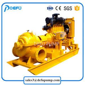 De landbouw Pompen van het Water van het Geval van de Dieselmotor van de Irrigatie Gespleten Centrifugaal