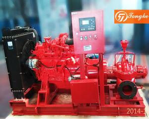 UL مضخة حريق محرك الديزل مضخة مياه مجموعة / مجموعة