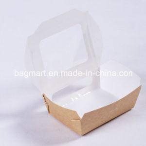 環境に優しいパスタのペーパー包装ボックス、お弁当箱