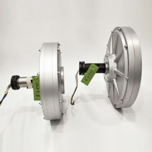 2Квт наружный ротор генератора постоянного магнита Coreless по вертикальной оси ветровой турбины