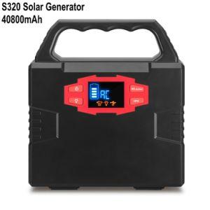 Generador de Energía Solar ligero 40800mAh de Banco de potencia 100W