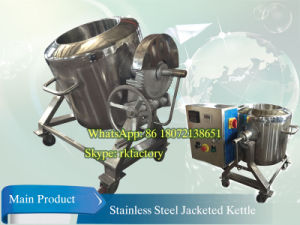 Electric Heating Jacketの100L Tilting Jacketed Kettle
