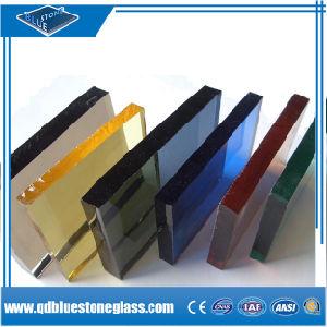 Limpar e laminado cor& escurecido, Prédio de segurança de vidro para construção