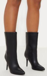 OEM ODM Bottes d'hiver de haute qualité femmes sexy haut talon de longues bottes d'hiver