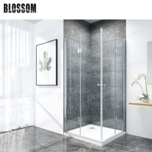 Duschkabineの簡単な緩和されたガラスの浴室のコーナー部屋ボックスシャワーの小屋