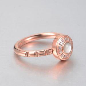 fashion Ring (hdx1076) 스테인리스 보석 숙녀