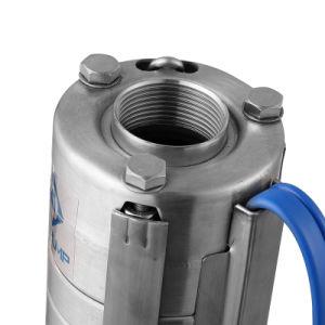4spstainless acier pompe submersible de forage de puits profond de la pompe à eau de la pompe
