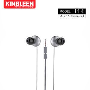 Erstklassige Qualitätskopfhörer/Earbuds StereoMic Fernsteuerungs für 3.5mm Kopfhörer-Audios-Einheit